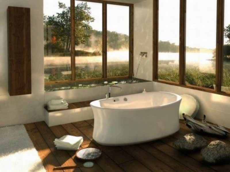9 romantic spa like bathroom decor design bookmark 12140 for Spa like bathroom decor