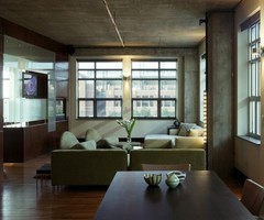 Dynamic Apartment In Denver Reflecting The Owner'S Passion For Automobiles