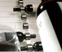 The Cioso Modern Wall Mounted Wine Rack From Blomus