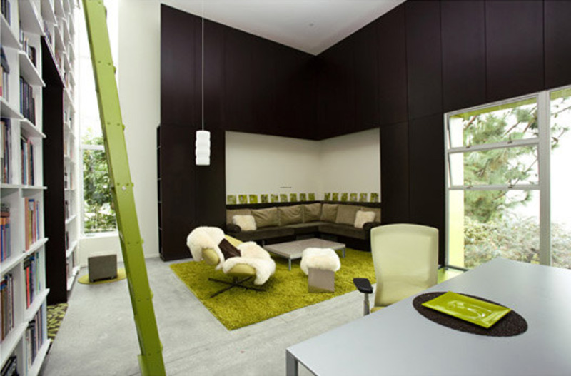 Fun With Color By Lime Green Interior Design Design