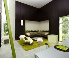 Fun With Color By Lime Green Interior Design