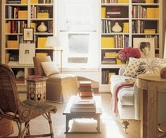 Best Classic Interior Home Design: Warm Neutrals   Yellow Accents : Library By Jeffrey Bilhuber