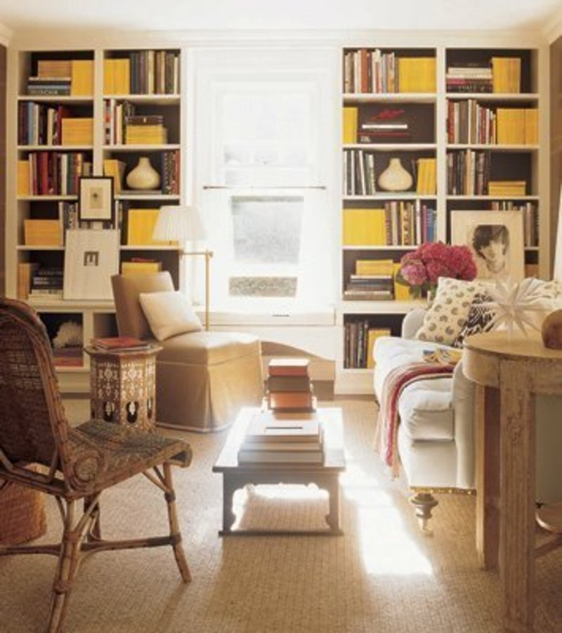 Best classic interior home design warm neutrals yellow for Classic home accents