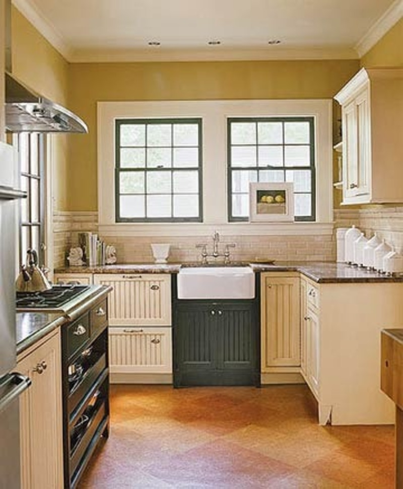 Italian Country Style Kitchen, Small Black And Cream Cottage Kitchen With Italian Details P Italian