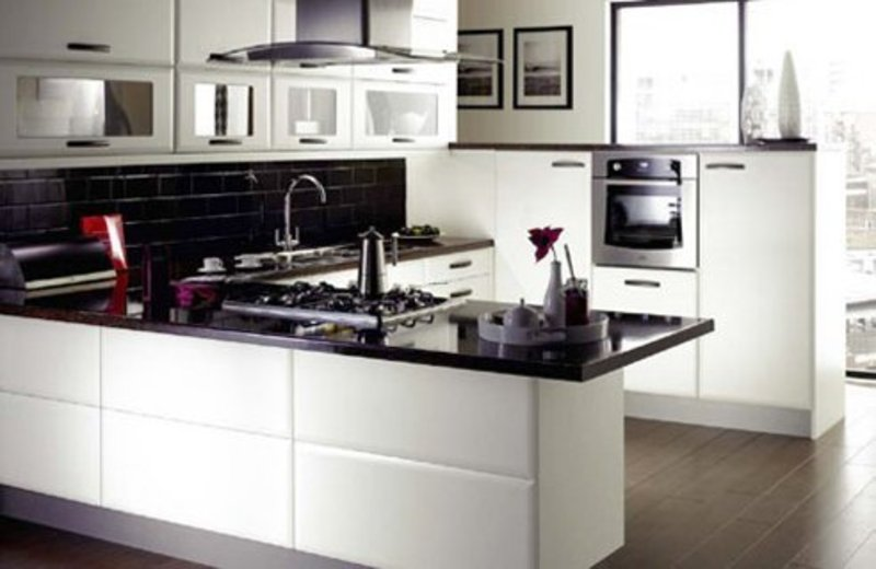 White Kitchen Designs Photos, Contemporary White
