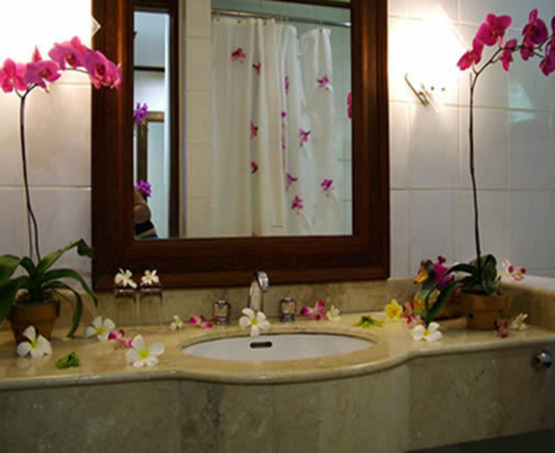 Romantic Bathroom Decor Design Bookmark 12206