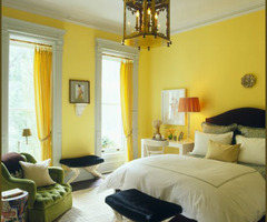 ~ Mon Journal Rouge: Home Inspiration: Yellow Walls