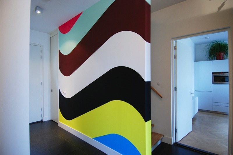 Wall Painting Designs Stripes, Magic Walls