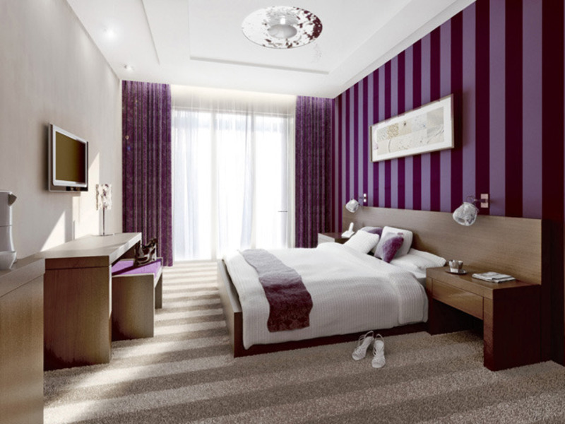grey and purple bedroom color schemes images