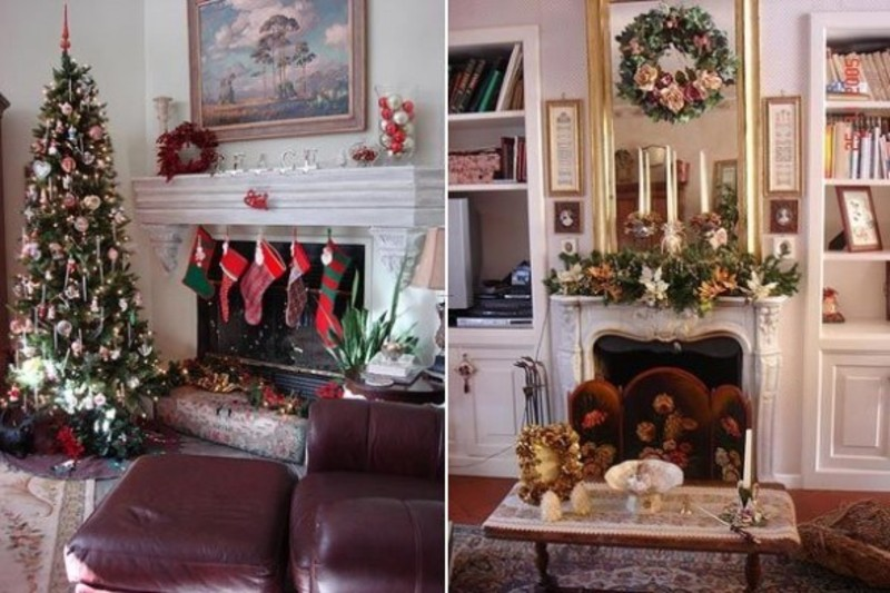 2010 Christmas Home Decorating Ideas For Indoor On Zeospot Com Design Bookm