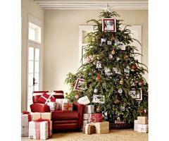 12 New Trends Christmas Tree Decorating 2011 By Pottery Barn »  Home Interior Ideas, Home Decorating, Home Furniture, Home Architecture, Room Design Ideas