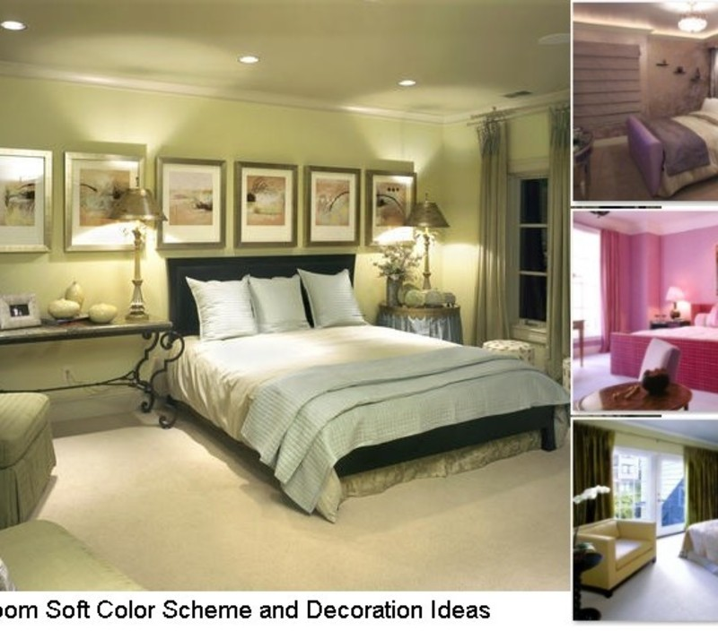 Bedroom Color Combinations: 4 Bedroom Soft Color Scheme