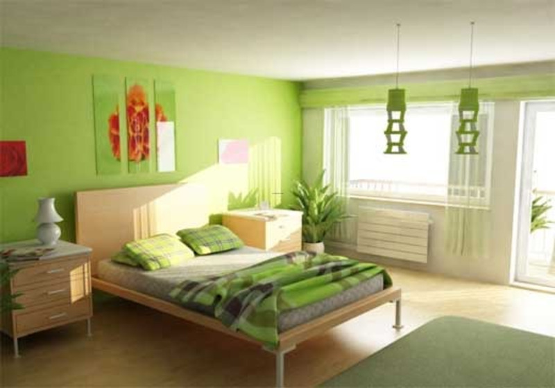 Green Interior Bedroom Design Ideas Design Bookmark 12328