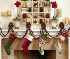 Sparkling Christmas Holiday Decoration By Pottery Barn
