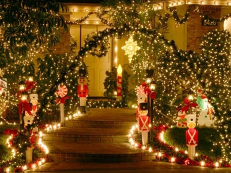 Christmas Outdoor Decorations Ideas PicturesWallpapers