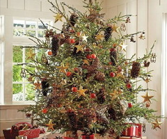 12 New Trends Christmas Tree Decorating 2011 By Pottery Barn