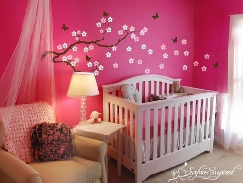 Baby Girl Room Decoration Ideas | Baby Interior Design