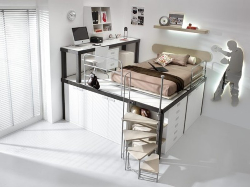 Kids Loft Beds From Tumedei Queen Loft Bed u2013 Girls Bedroom ...