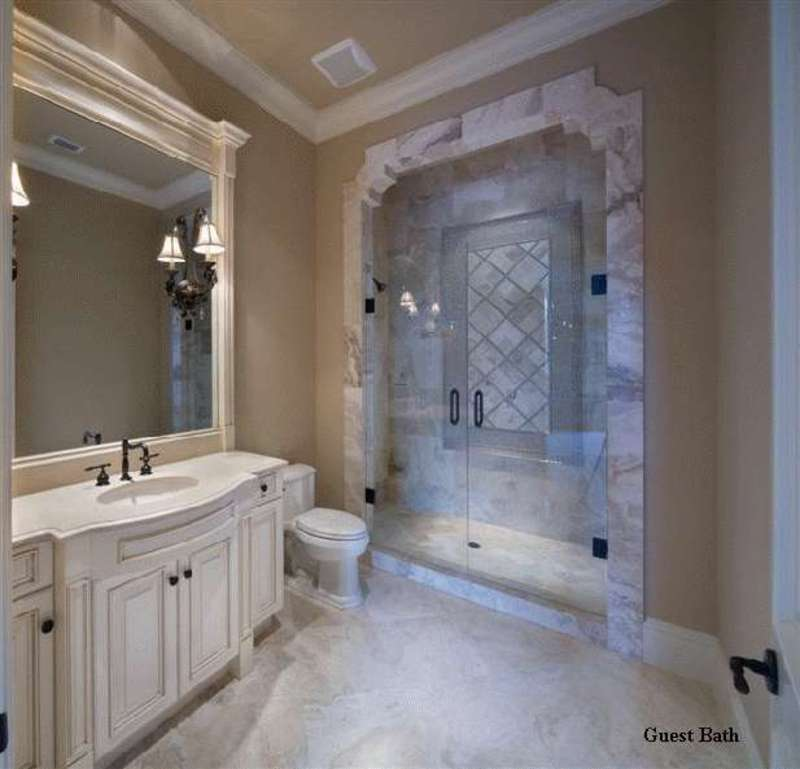 Luxury modern french home design by john henry architect for French bathroom decor