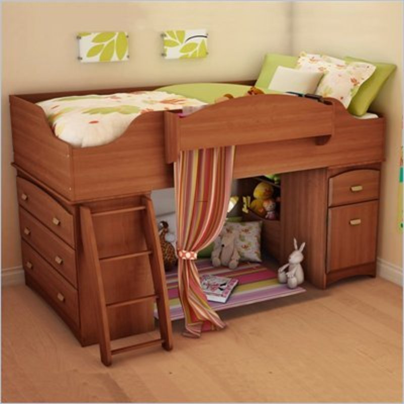 South Shore Imagine Collection Loft Bed 800 x 800