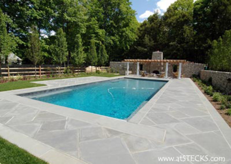 Swimming pools at stecks com nursery and landscaping for Pool garden design pictures