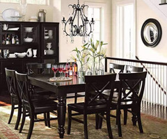 A Black Chandelier Dining Room Design Concerns