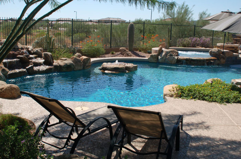 Sunset Pool Division Designs And Builds Custom Pools And