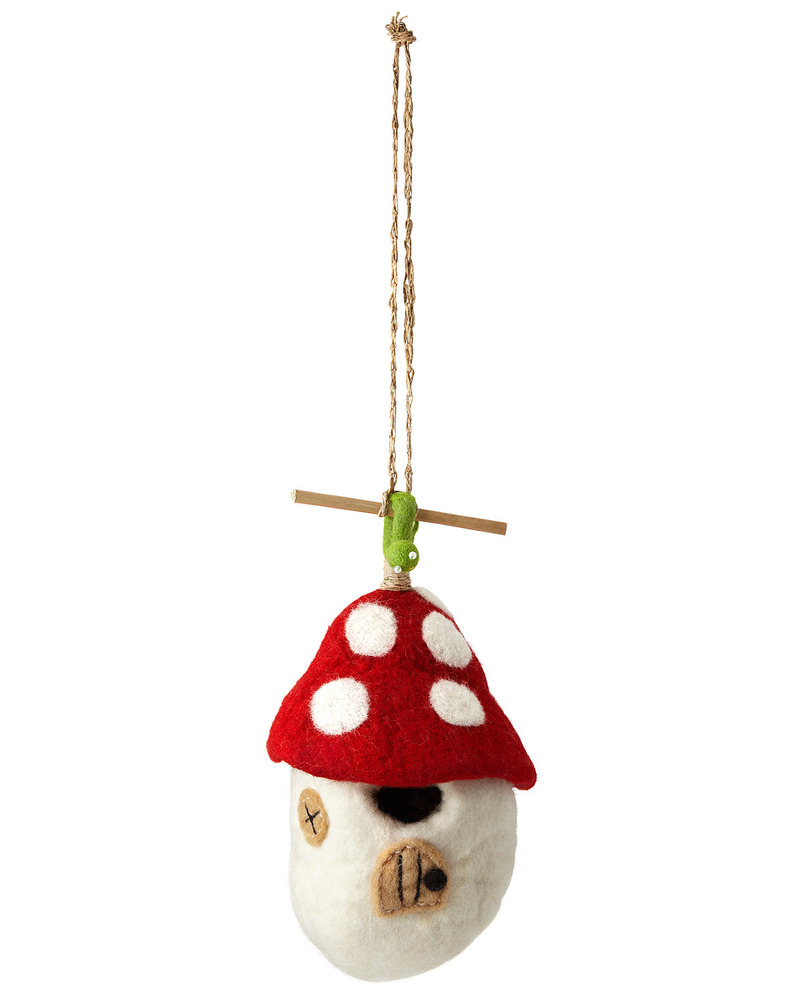 Unique Gifts For Christmas 2011, Felt Birdhouse   Mushroom