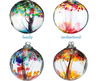 Recycled Glass Tree Globes   Relationships