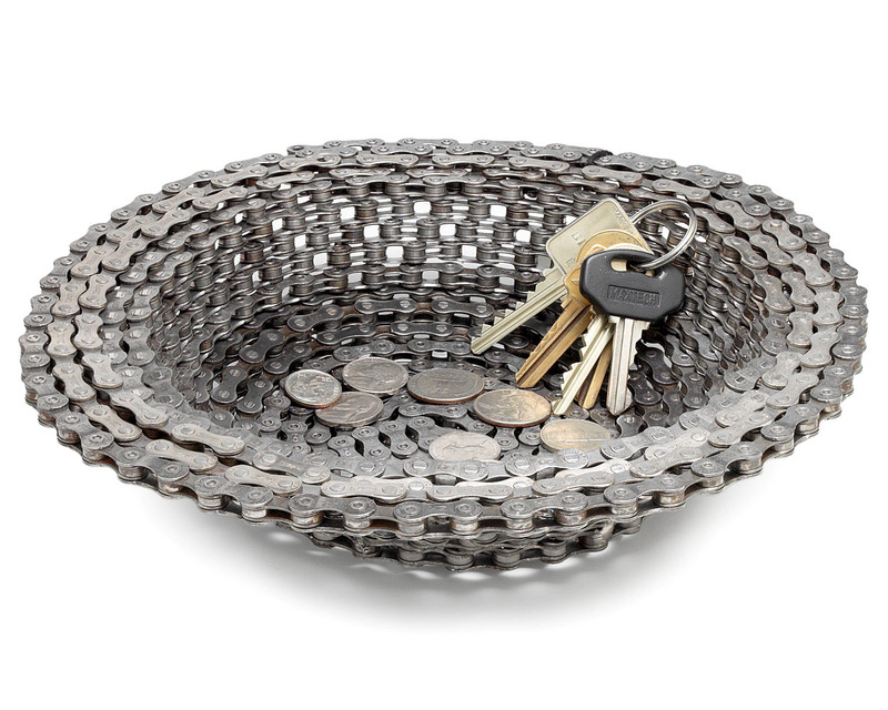 Unique Gifts For Christmas 2011, Bike Chain Bowl