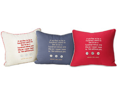 Organic Cotton Pooh Pillows