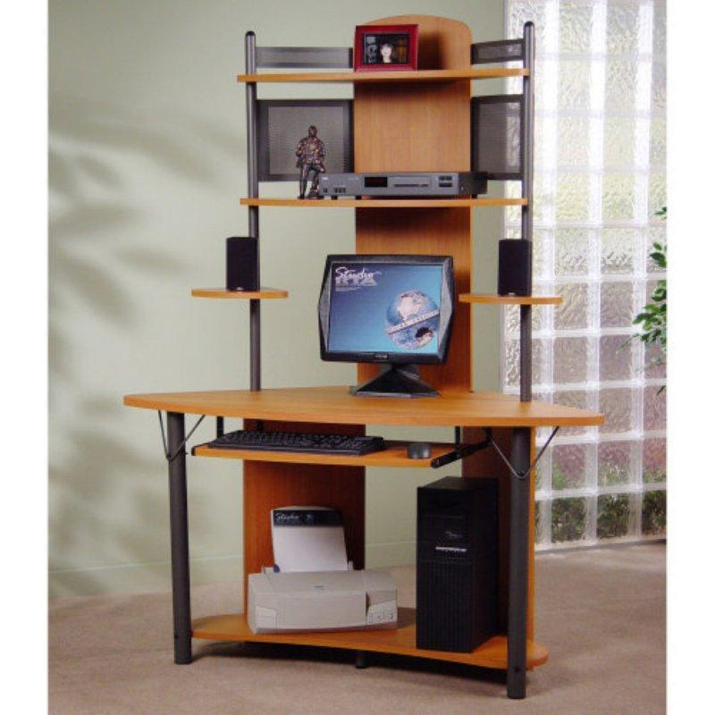 Modern corner desk workspace for small office design ideas design bookmark 12773 - Small home office space gallery ...