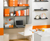 Modern Small Office Space With Furniture Sets