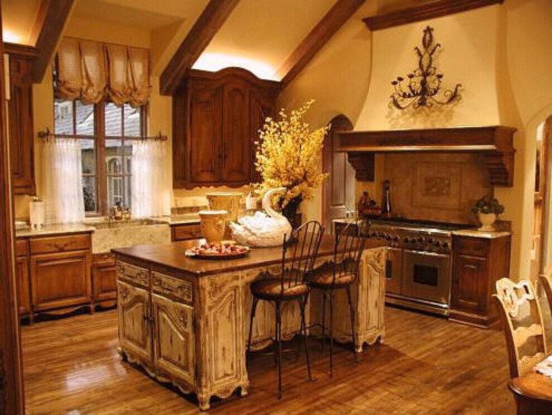French Country Kitchen Decor Ideas Design Bookmark 12838