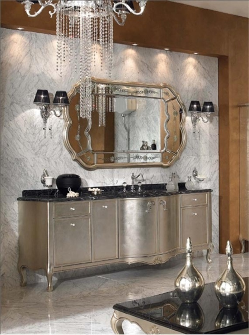Classic bathroom design luxury home decor design bookmark 12858 Luxury bathroom vanity design