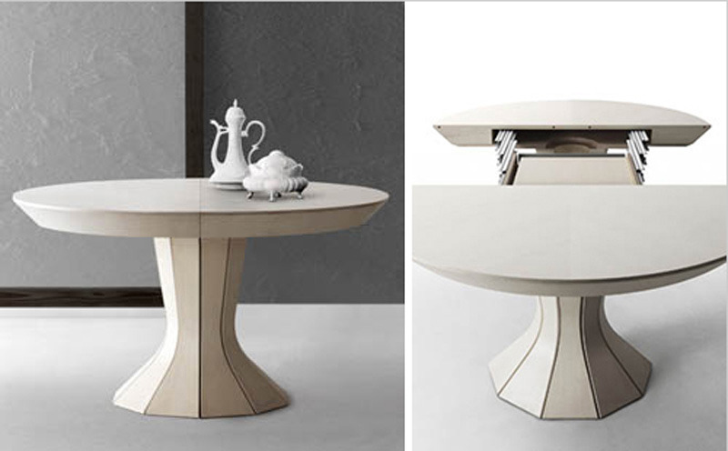 Modern Opera Contemporary Flexible Round Table By Bauline