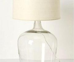 10 Easy Pieces: Glass Table Lamps : Remodelista