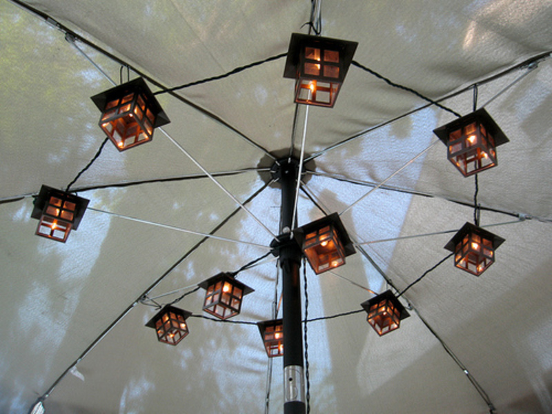 How to Set Up Patio Umbrella Lights | eHow.com