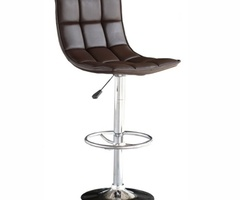 Chaise De Bar Chocolat Simili Cuir 59.99 €