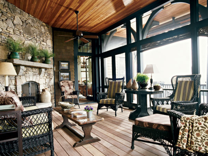 11 outdoor patio rooms to consider homes alternative 46435 Enclosed patio ideas