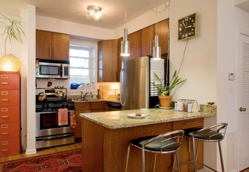 small kitchen improve with bar design ideas « home