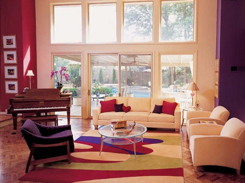 Architecture and interior exterior design creative for Creative living room paint ideas