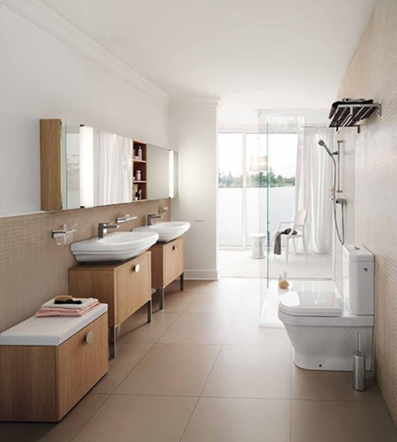 Modern bathrooms new lb3 bathroom designs by laufen for New bathtub designs