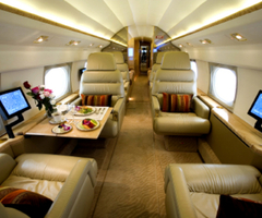 Private Jet Interiors