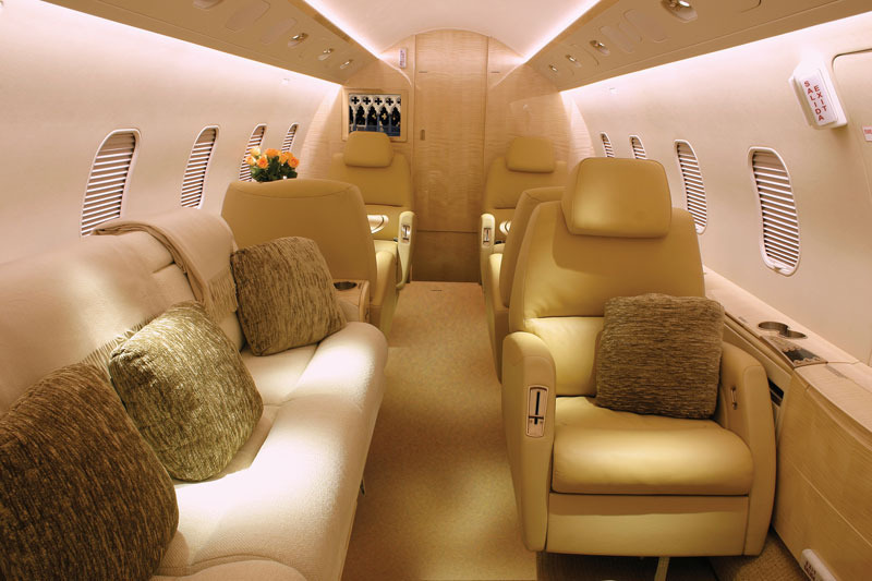 Private Jets Interior Photos, Exclusive Private Jet Charters: Gallery
