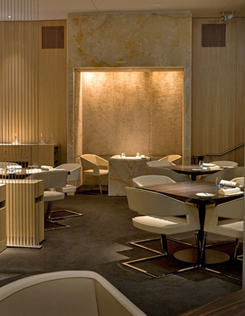 restaurant with a luxurious interior design design bookmark 13092