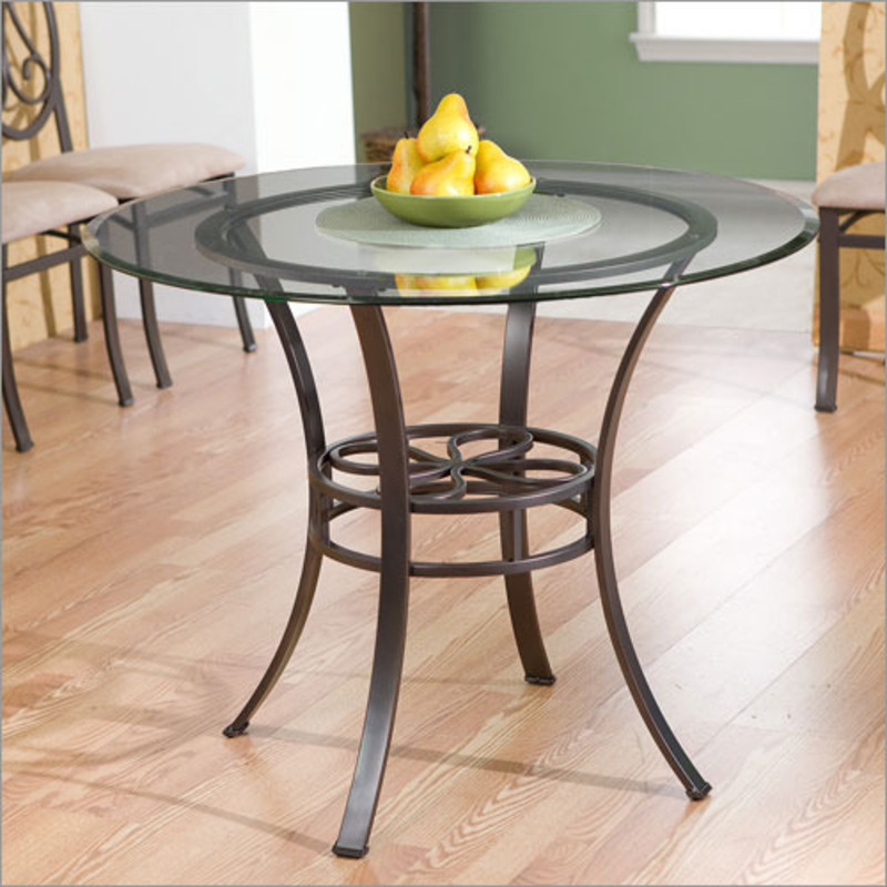 Glass round table best dining table ideas Round glass table top