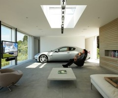 Spectaculer And Very Amazing  Insanely Cool Car Garage Design By Holger Schubert 