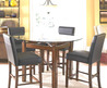Round 54 Glass Top Dining Set 5 Piece Free Delivery $525 Classified Ad