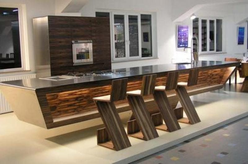Kitchen Bar Designs With Contemporary Model Design